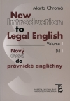Obrázok - New Introduction to Legal English - Volume I.