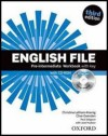 Obrázok - English File Third Edition Pre-intermediate Workbook with Answer Key and iChecker