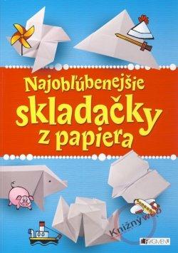 85917ae5e Kniha Najobľúbenejšie skladačky z papiera   Moja-Kniha.sk