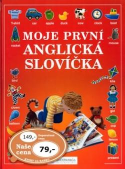 cef44eb13 Kniha Moje první anglická slovíčka | Moja-Kniha.sk