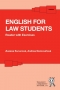Kniha - English for Law Students - Reader with Exercises